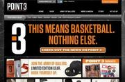 "The Point 3 stylized ""3"" logo is shown prominently on the Atlanta-based basketball apparel brand's website. The company said on Tuesday said it reached a settlement with Nike Inc. over a trademark infringement claim."