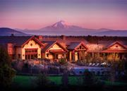 A view of the clubhouse at Pronghorn Resort in Bend, Ore.