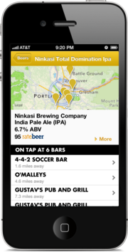 The new Taplister includes a iPhone app.