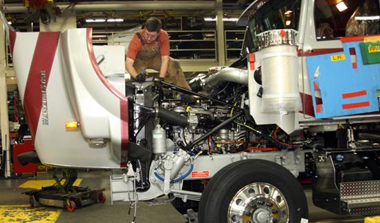 Daimler Trucks will temporarily close its manufacturing plants on some days in October.