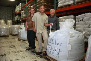 Shobi, Dave and Glenn Dahl of Dave's Killer Bread. The Milwaukie-based bread-maker has sold a 50 percent stake in the company to New York private equity firm Goode Partners LLC.