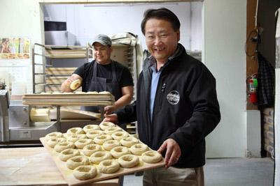 Jeffrey Wang sold Kettleman Bagel Co. to Einstein Noah Restaurant Group Inc., which now may be considering a sale of its own.