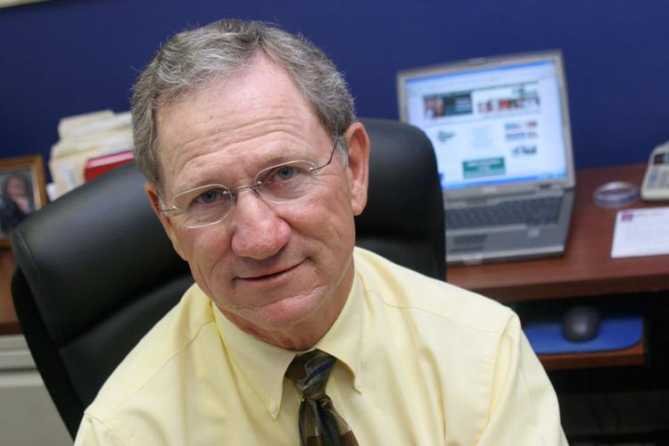 MBank founder and CEO Rex Brittle, shown here in 2005, resigned Thursday from the Gresham-based bank.