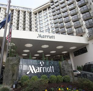 Last call for Champions restaurant at the Marriott