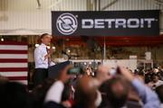 President Barack Obama attended the Michigan event where the announcement was made.
