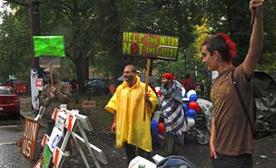 Occupy Portland will hold a rally and march Wednesday targeting the American Legislative Exchange Council.