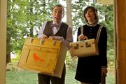 """Portlandia"" actors Fred Armisen and Carrie Brownstein"