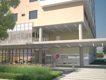 The Robert D. and Marcia H. Randall Charitable Trust on Wednesday donated $10 million Legacy Health System's new children's hospital, which will now be named Randall Children's Hospital at Legacy Emanuel.