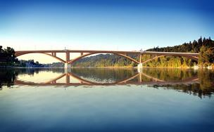 Sellwood Bridge rendering