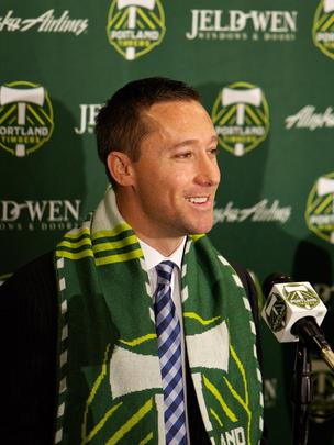 The Portland Timbers formally introduced new head coach Caleb Porter on Tuesday.