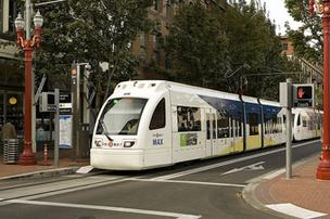Portland has been singled out by the American Public Transportation for increased MAX ridership.