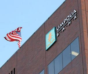 Umpqua Bank's first-quarter results topped analysts' expectations.