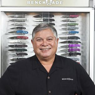 Benchmade CEO Les de Asis was one of several CEOs who participated in a CEO roundtable with U.S. Treasury Secretary Tim Geithner.