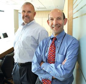 Ken Roberts, left, will join Lane Powell, but Joel Kaplan will start his own law firm.