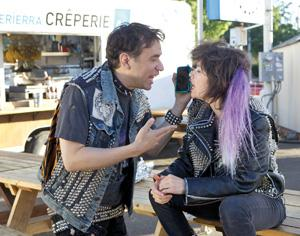 Fred Armisen and Carrie Brownstein star in 'Portlandia,' a satire set in Portland.