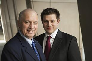"William Barton of The Barton Law Firm in Newport calls for giving ""second chair"" trial attorneys ""co-first chair"" status, elevating their trial responsibilities. He's shown here with son, partner and ""co-first chair"" Brent Barton."