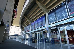 Veteran's Memorial Coliseum may also be slated for redevelopment.