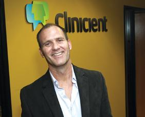 Clinicient CEO Jim Plymale says investor patience is starting to pay off as health reform takes effect.