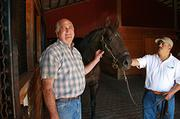 Veteran thoroughbred breeder Jack Root races about 25 horses per season at Portland Meadows.