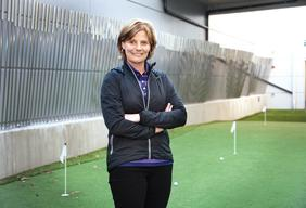 Nike Golf President Cindy Davis is overseeing a wave of innovation as the Nike subsidiary strives to take advantage of an upturn in the golf sector.
