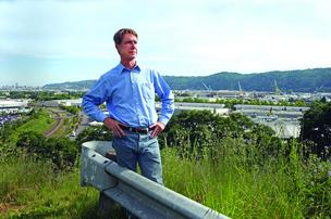"Corky Collier, executive director of the Columbia Corridor Association, says there's ""potential"" in the lackluster Willamette Industrial urban renewal area."