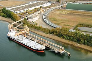 Canpotex is planning to expand its potash storage capacity at the Port of Portland.