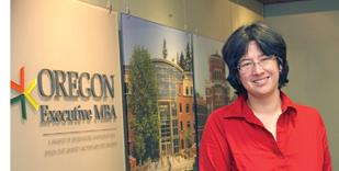 OEMBA Interim Director Erika Foin will stay on as an administrator as the program winds down.