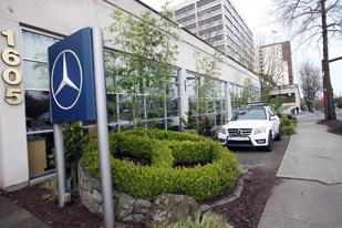 The Rasmussen Mercedes-Benz dealership on Southwest Naito in Portland now belongs to Lithia Motors.