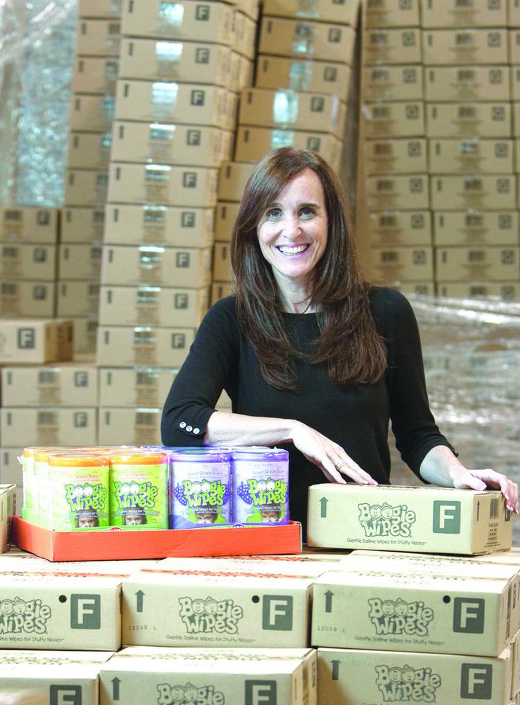 """People (in Cincinnati) understand brands,"" said Boogie Wipes creator Julie Pickens."