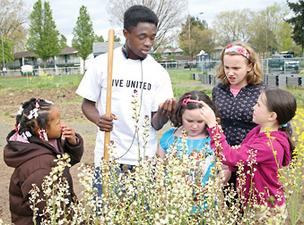 United Way dollars support numerous community programs, including this one in Portland