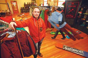 Armin Boehm, vice president and global commercial director for Amer Sports' apparel and gear business, says the company's Portland design center has run out of room.