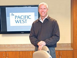 "Under the leadership of CEO Steve Gray, West Linn's Pacific West Bank is now considered ""well capitalized"" by regulatory standards."