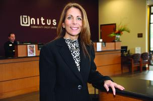 Unitus Community Credit Union's Laurie Kresl says the risks of a credit card program can be minimized.