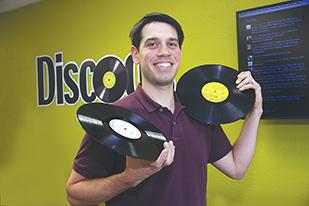 "Discogs.com CEO Kevin Lewandowski created the online music database 13 years ago. ""It was the type of site I always wished had existed,"" he said."