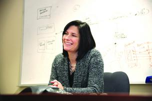 NVoicePay's Karla Friede said her company could grow five-fold during 2013.