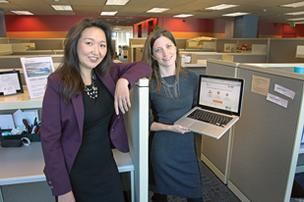 CoPatient's co-founders, Rebecca Palm and Katie Vahle, expect that federal health reforms will add 50 million people to the nation's health insurance rolls, boosting demand for their service, which finds inaccuracies in medical bills.