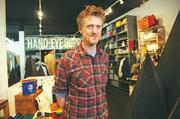 "Hand-Eye Supply owner Eric Ludlum has had ""no problems"" since opening his store two years ago."