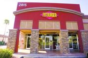 The majority of Fatburger restaurants, including this one in Phoenix, are franchises.