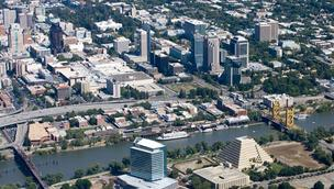 Sacramento downtown skyline