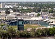 Until recently, Raley Field's neighbors in the Bridge District were decidedly industrial.