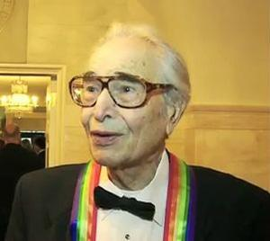 Pianist and composer Dave Brubeck at the White House in 2009.