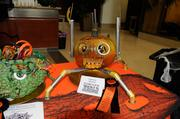 """Most Creative --""""Dr. Gizmo's Plan for World Domination,"""" a twisted and inventive mashup of pumpkin and homicidal robot. Credited for the work was Elizabeth Leonard of the California Housing Finance Agency, 500 Capitol Mall."""