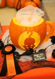 Finalist--Another entry in the 2012 Capitol Mall pumpkin-carving competition, from Le Petite Pedlar, 500 Capitol Mall.