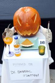 """""""Most Creative"""" -- """"Dr. Hannibal O'Lantern,"""" from an unnamed genius (or geniuses) at the Department of Insurance, 300 Capitol Mall."""