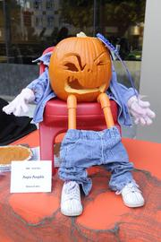 """""""Most Funny"""" -- Poopie Pumpkin, by Rebecca of the state Board of Equalization, 621 Capitol Mall."""
