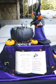 """""""Most Scary"""" -- """"Witches Brew,"""" by a team from Planned Parenthood Affiliates of California, 555 Capitol Mall."""