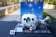 Runner-up: What amazing creativity! This pumpkin was turned into a miniature Cinderella carriage tableau by unnamed workers at WestAmerica Bank, 300 Capitol Mall.