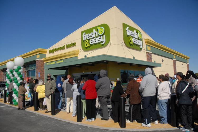 An ASU researcher believes Fresh & Easy stores won't make it.