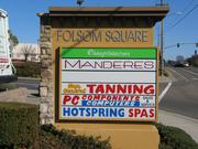 The smaller shop space of the Folsom Square shopping center has changed hands for the first time since the center was developed in the early '90s.