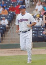 Steve Scarsone has been named manager of the Sacramento River Cats. He most recently was manager of the Double-A Midland, Texas Rockhounds. It's a farm club of the Oakland Athletics, along with the River Cats.